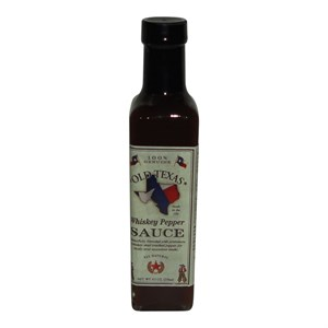 Whisky sauce old Texas pepper steak